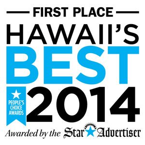 Voted Best Honolulu Massage 2014