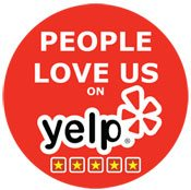 People Love Us On Yelp!""
