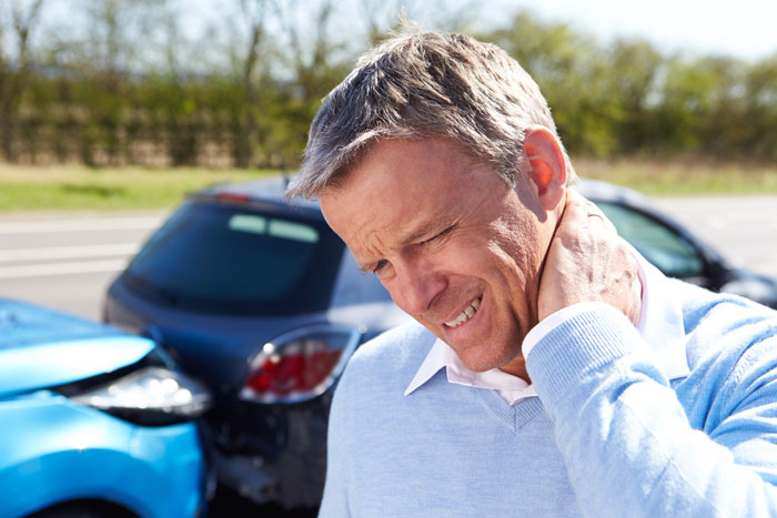 Car Accident Whiplash Massage
